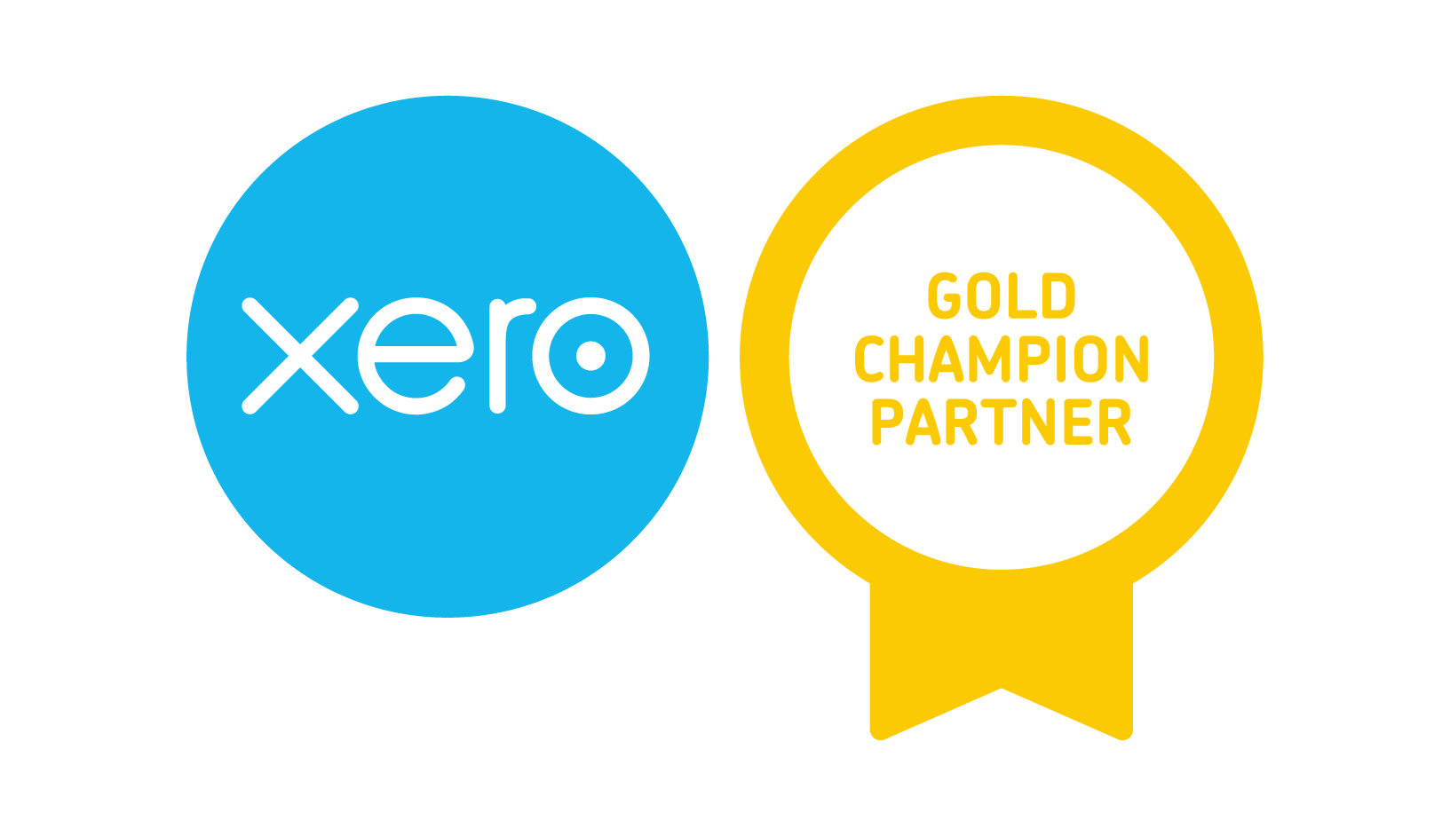 xero champion gold partner badge RGB