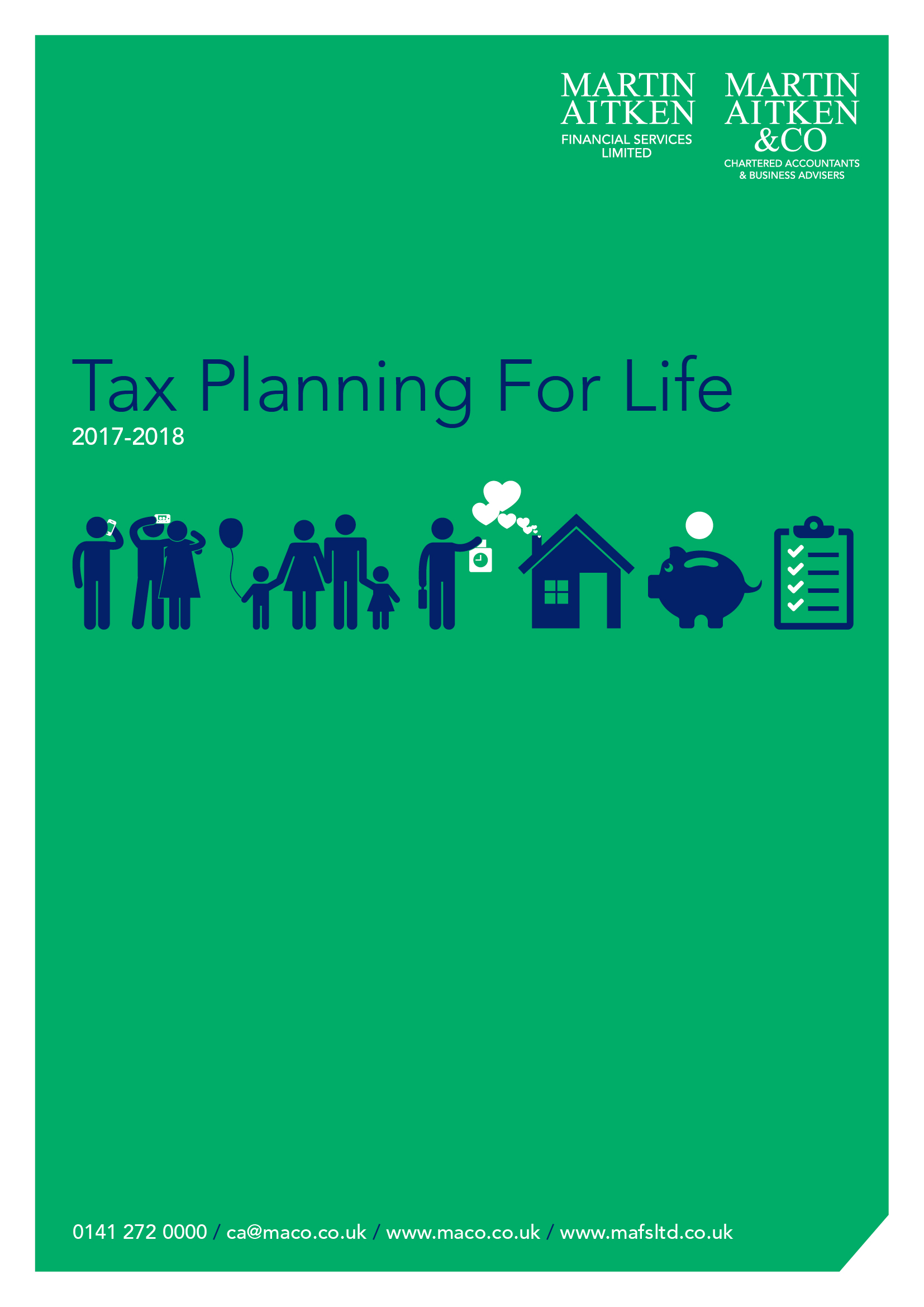 Maco Tax Planning Front Cover