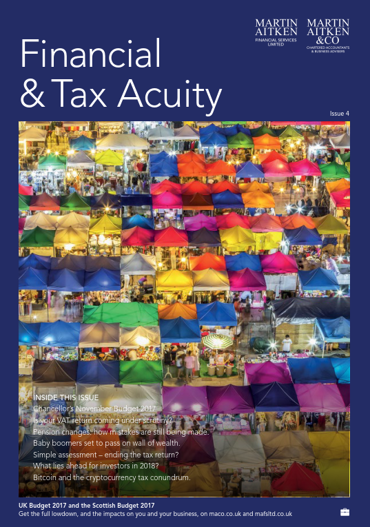 Finance & Tax Acuity Winter 2017-18