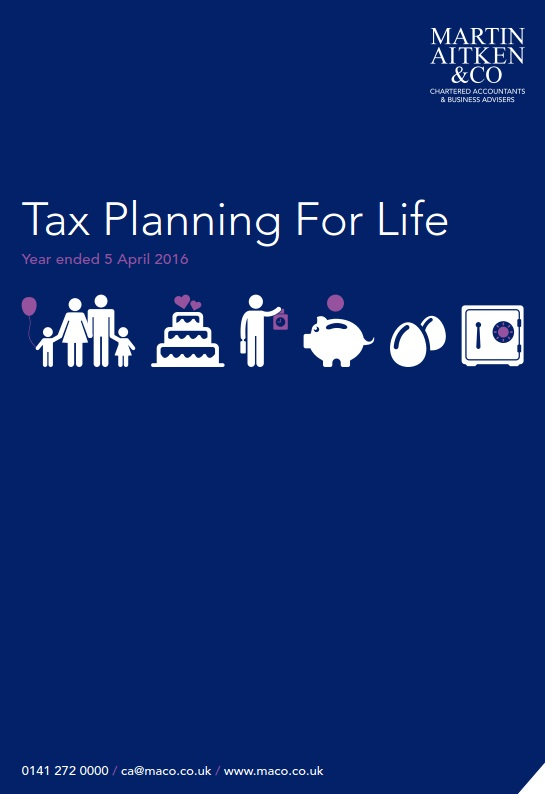 tax planning for life 2015-2016